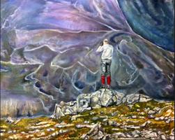 Scotland hunting painting