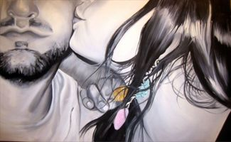 contemporary realist figurative painting