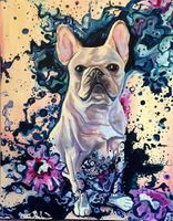 Colorful frenchie- Private Commission