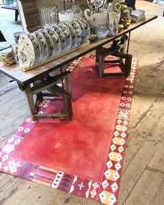 Fake rug painting