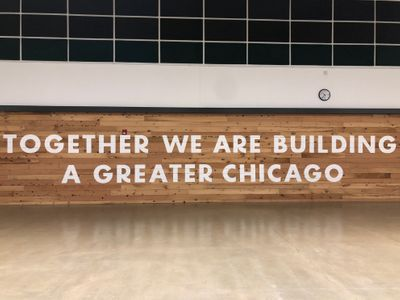 TOGETHER WE ARE BUILDING A BETTER CHICAGO