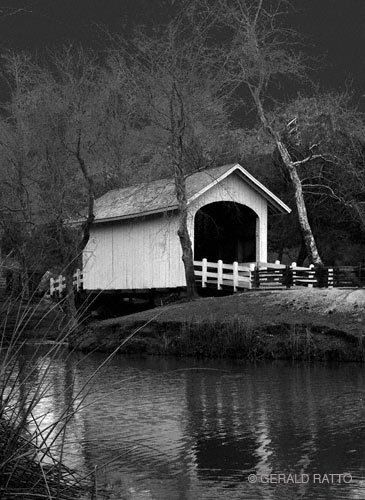 Roaring Camp Covered Bridge