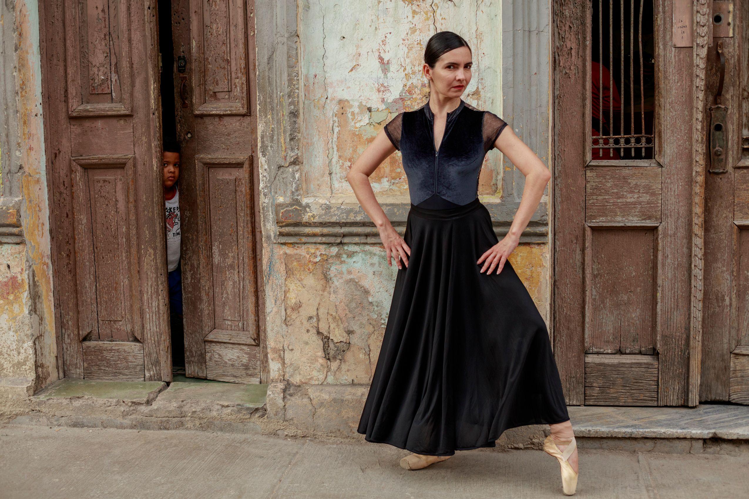 Cuban ballerina. Habana Vieja.