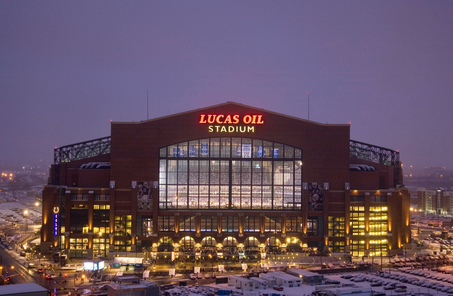 Lucas Oil Stadium home of the Indianapolis Colts. Indianapolis.