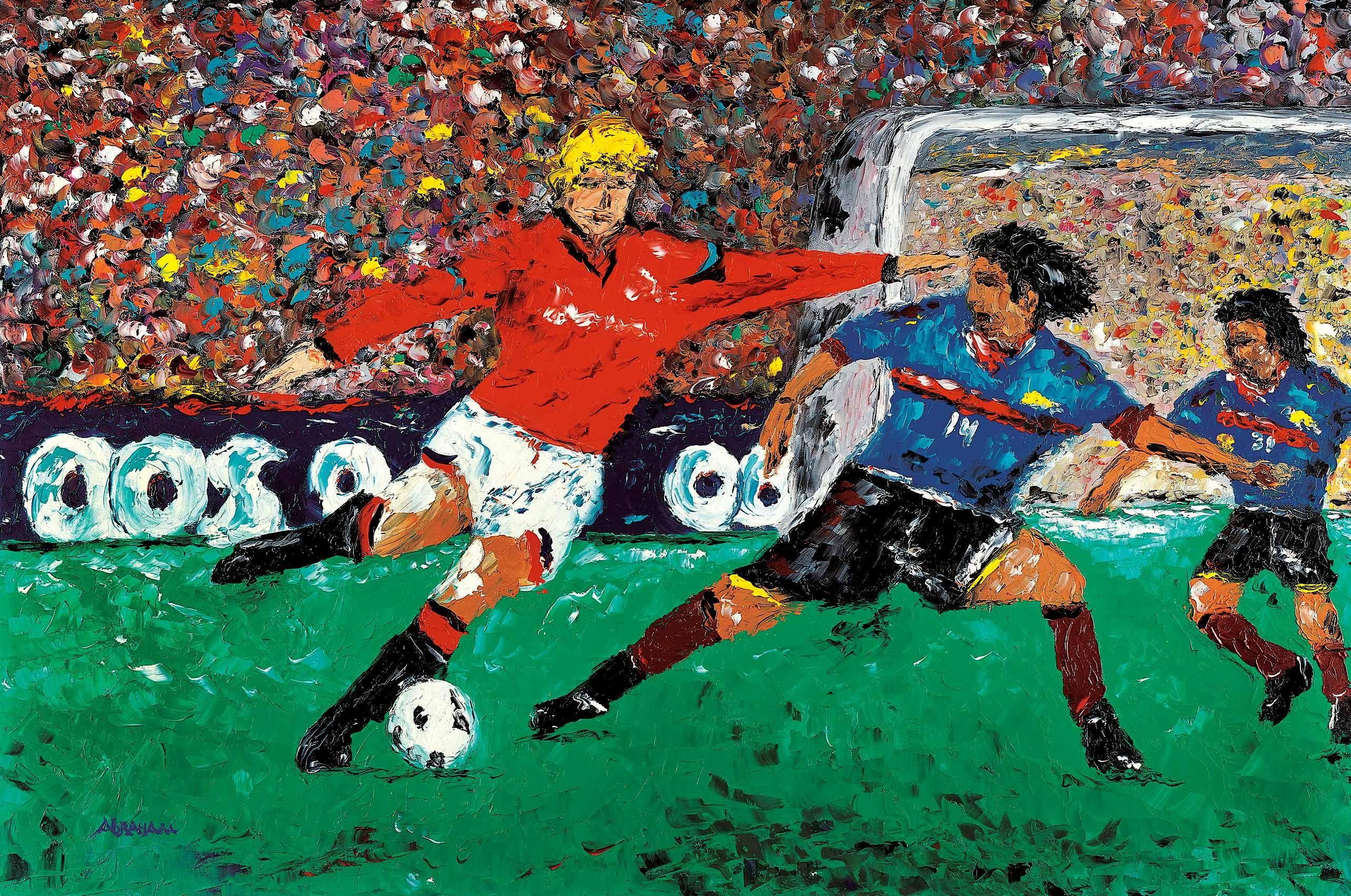 картинки о футболе композиционные даже выпускала