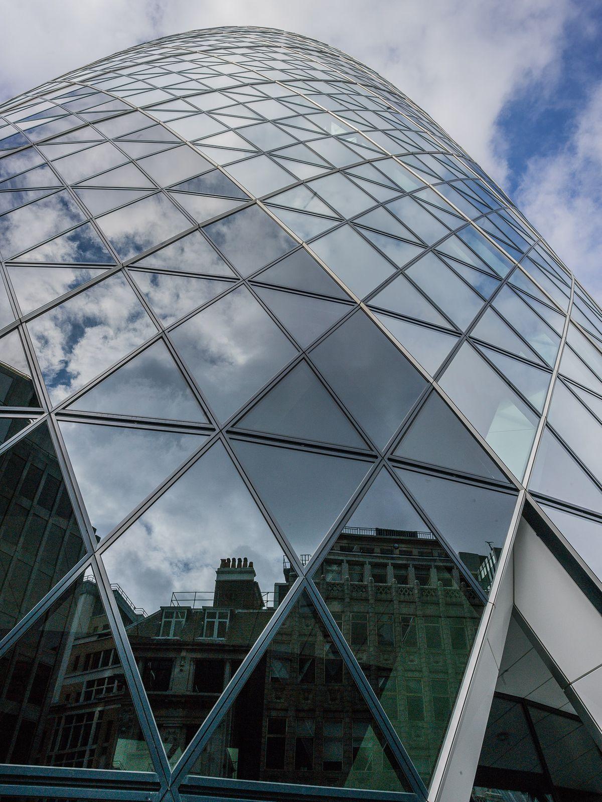 THE GHERKIN, NORMAN FOSTER   SWISS TOWER, STUDY 1, LONDON, ENGLAND, 2018