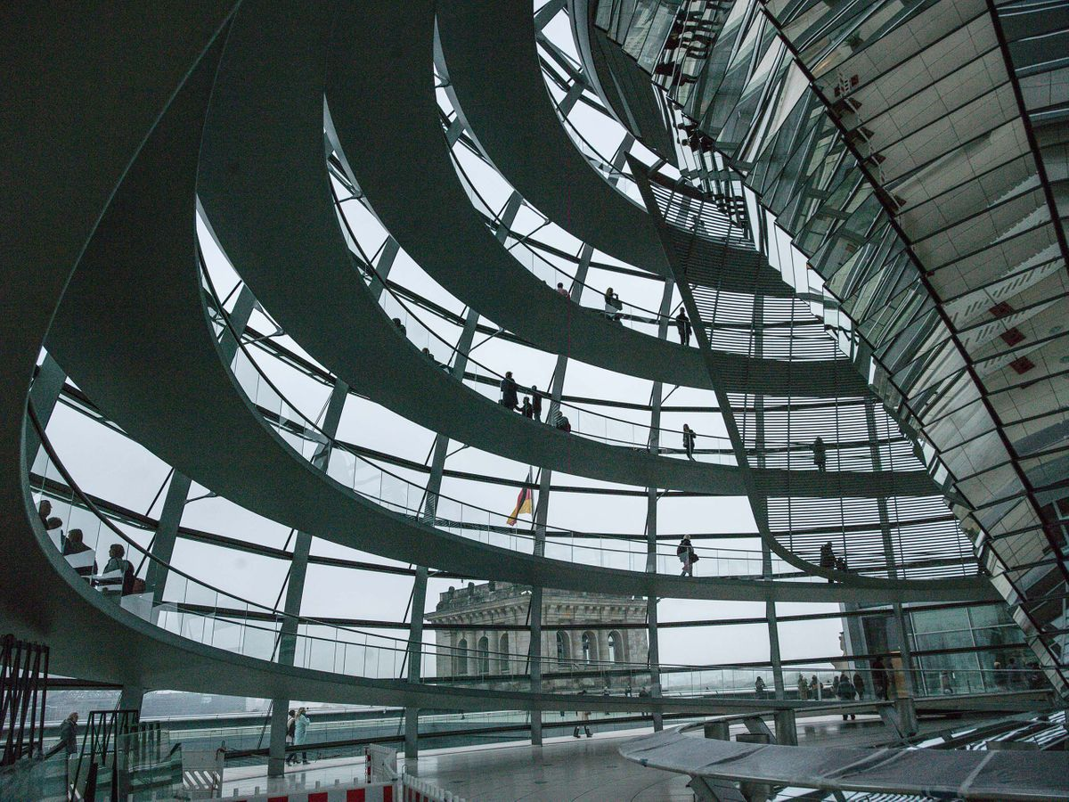 REICHSTAG DOME, STUDY 2, NORMAN FOSTER, BERLIN, GERMANY, 2016