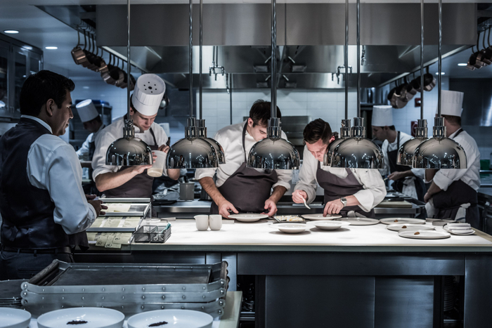 Into the Kitchen; Eleven Madison Park