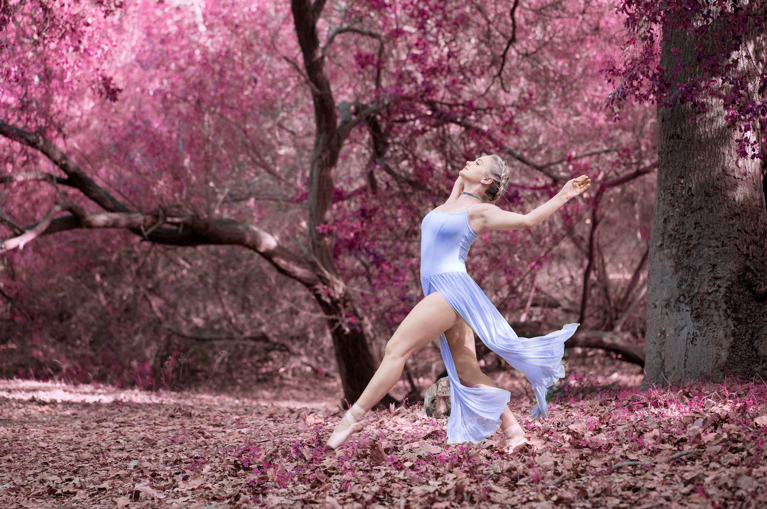 Ballerina in the Woods
