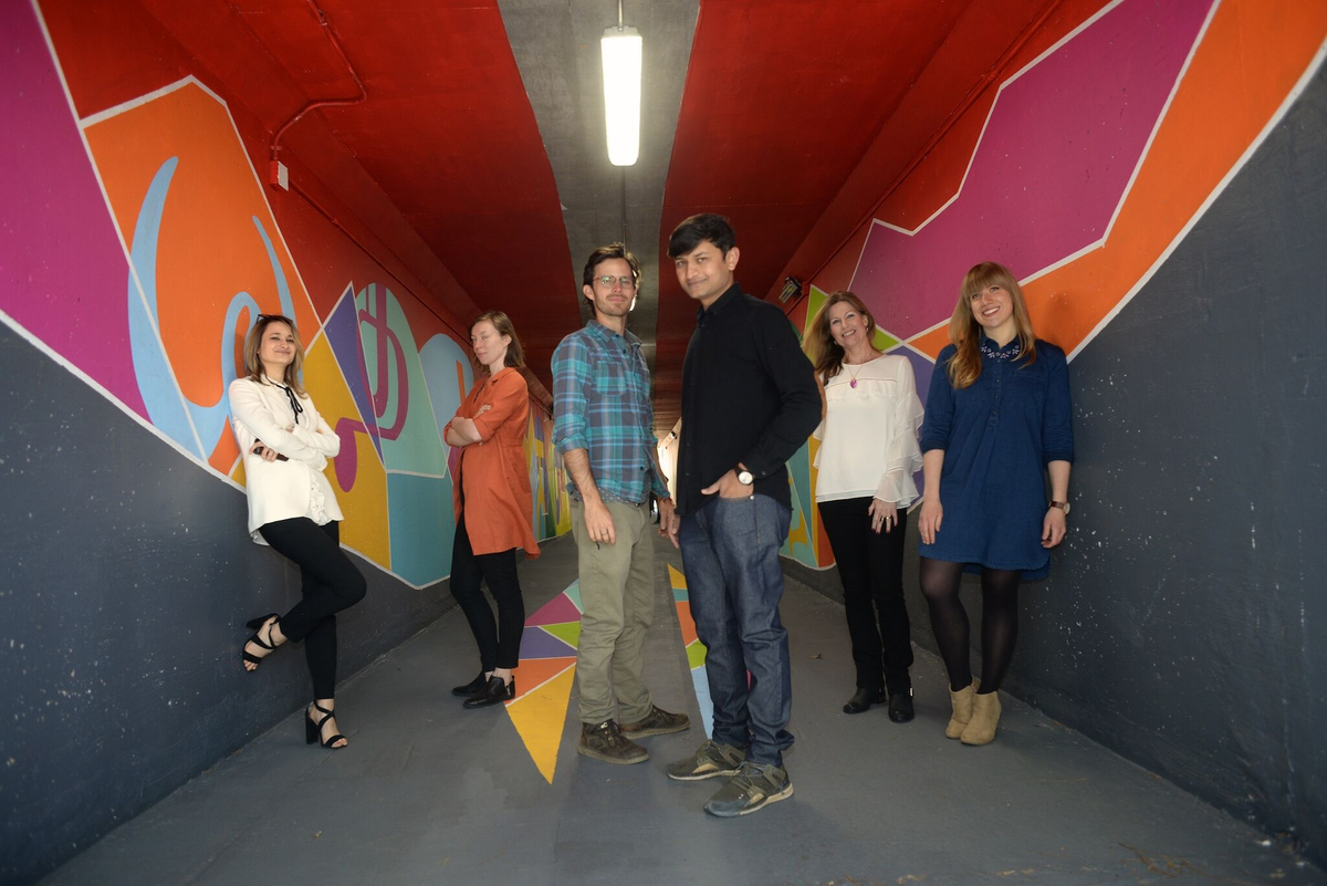 tunnel with artists, JCCVB, and UCL.jpeg