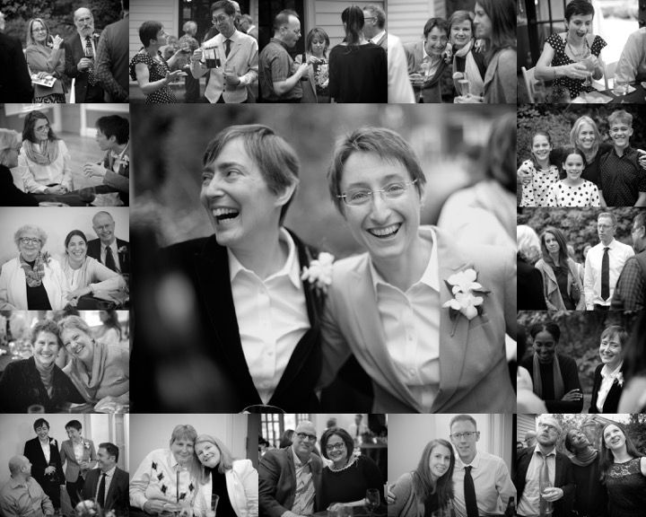 wedding reception montage
