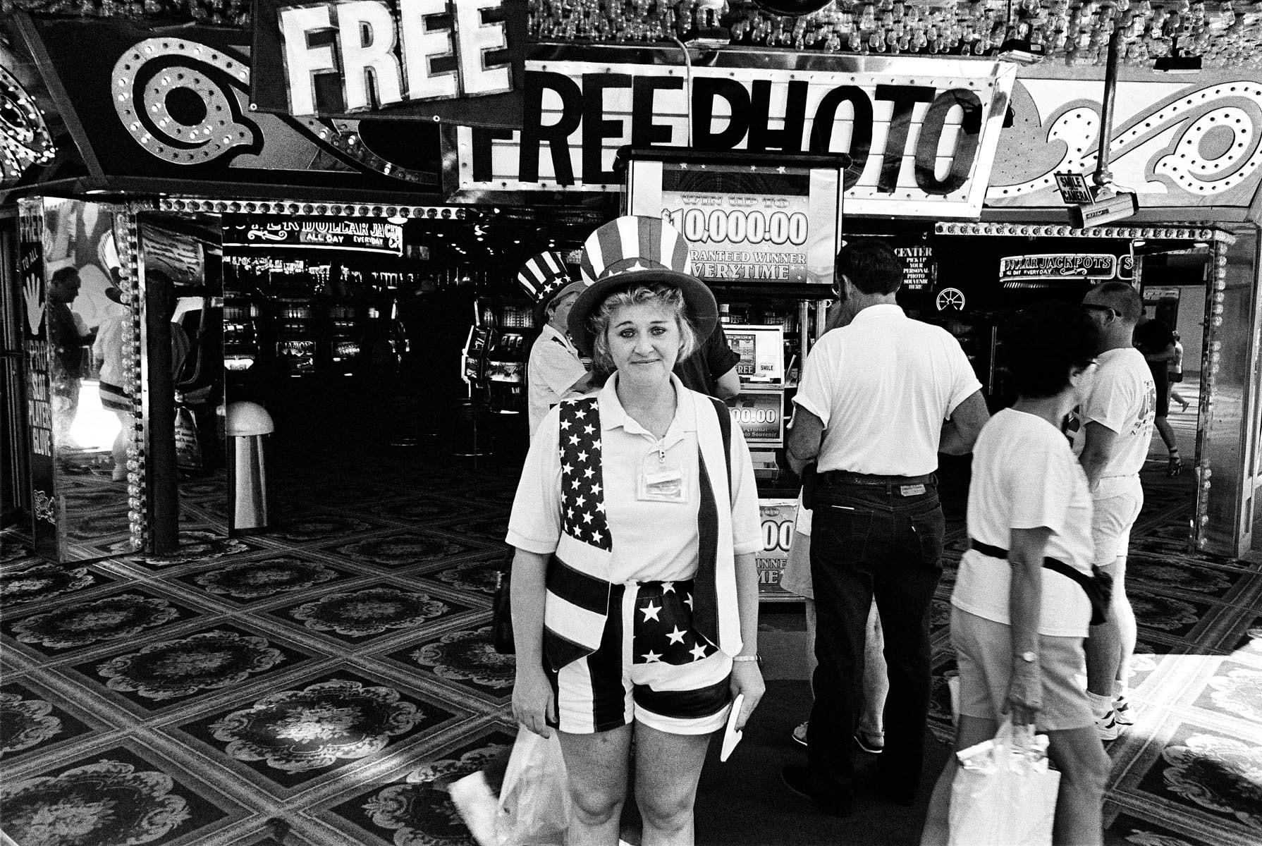 Freemont St., Las Vegas, NV, 1996