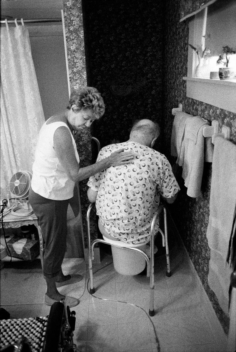Home Hospice Care, Audrey and Harry, Oshkosh, WI, 2002