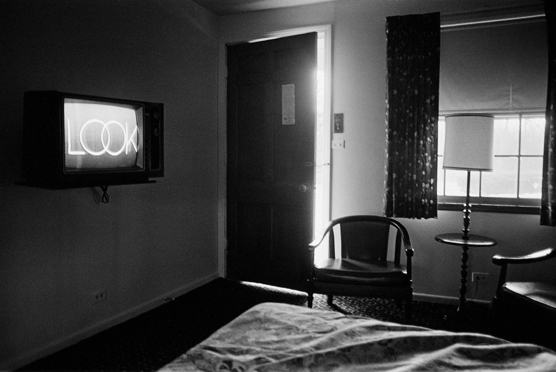 Motel, Highland Park, IL, 1989