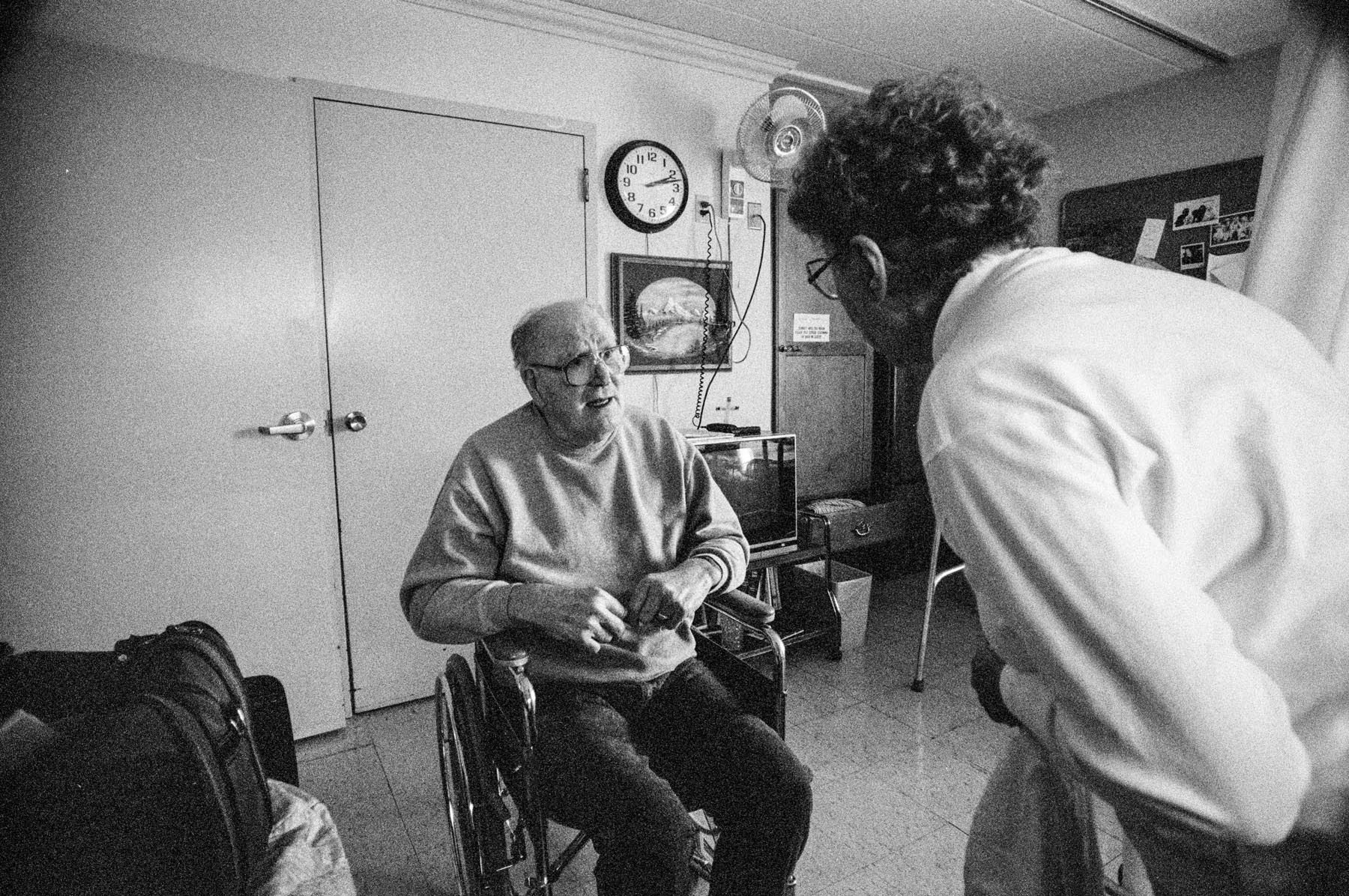 Harry and Audrey, Nursing Home, Omro Care Center, Omro, WI, 2001