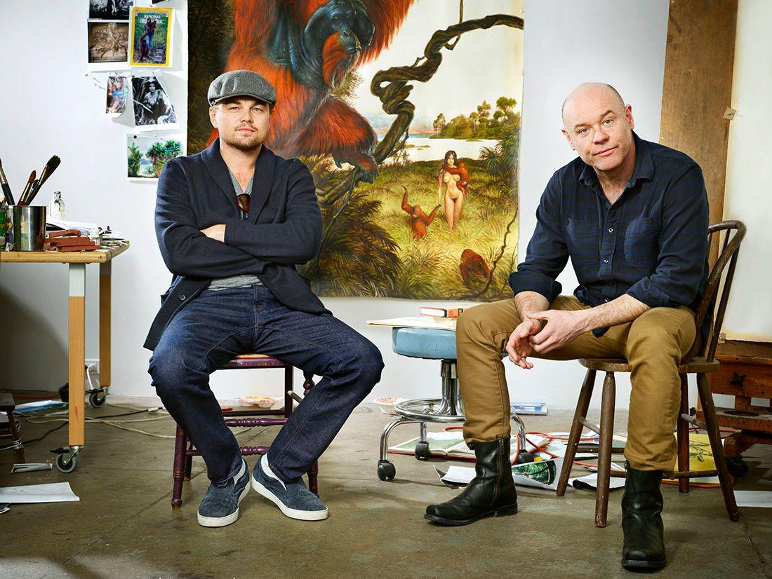 Leonardo DiCaprio and Walton FordPhotographer: Martin Schoeller