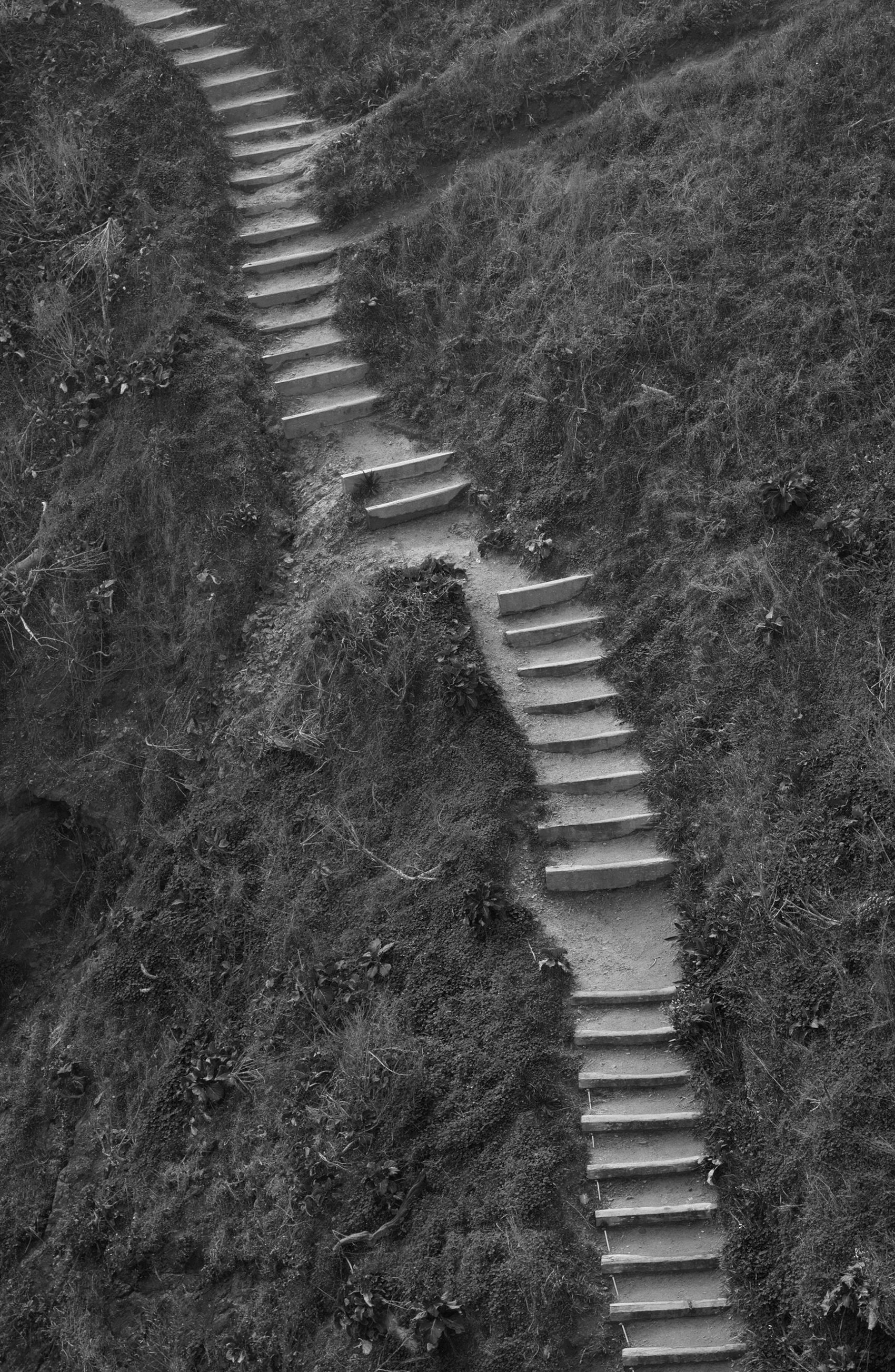 Beach Steps, Mendocino, California