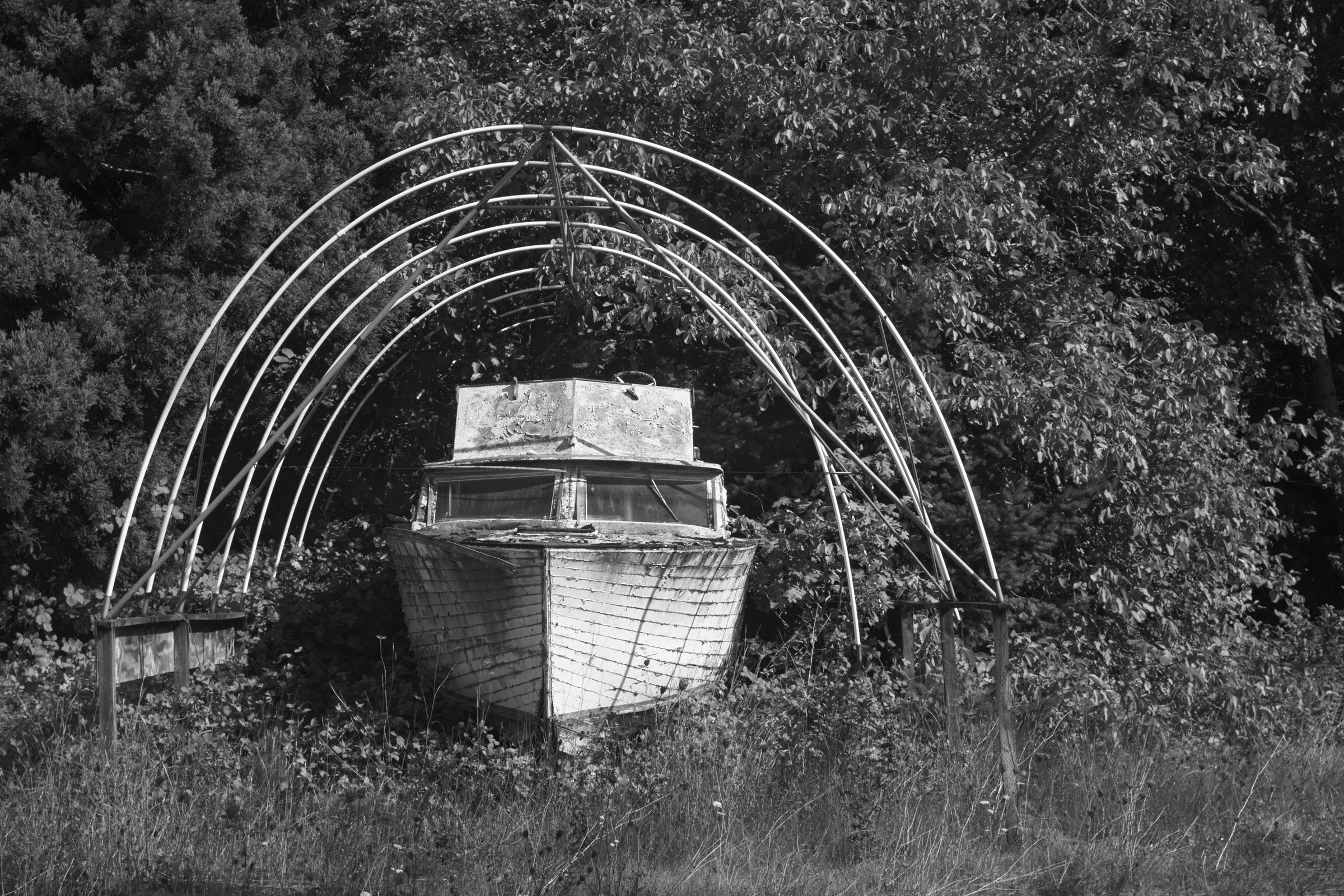 Boat in Ribs, Oregon