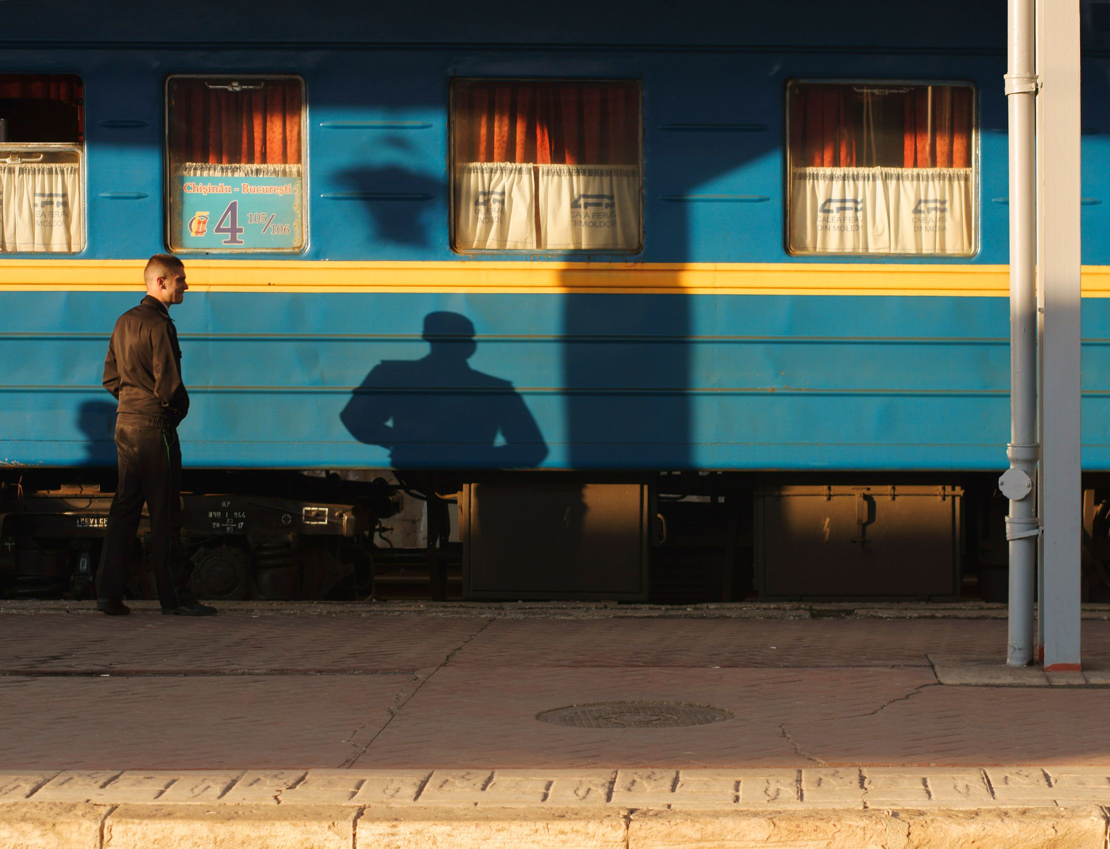 Blue Train, Bucharest