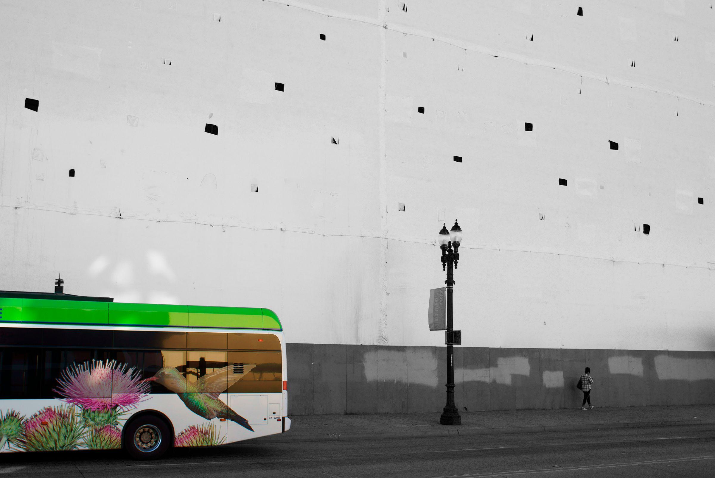 Hummingbird Bus, Oakland CA
