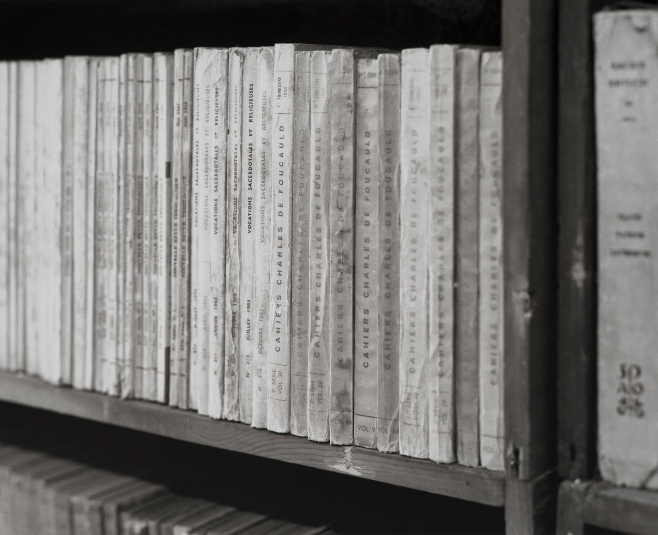 Foucauld_notebooks, Monastery