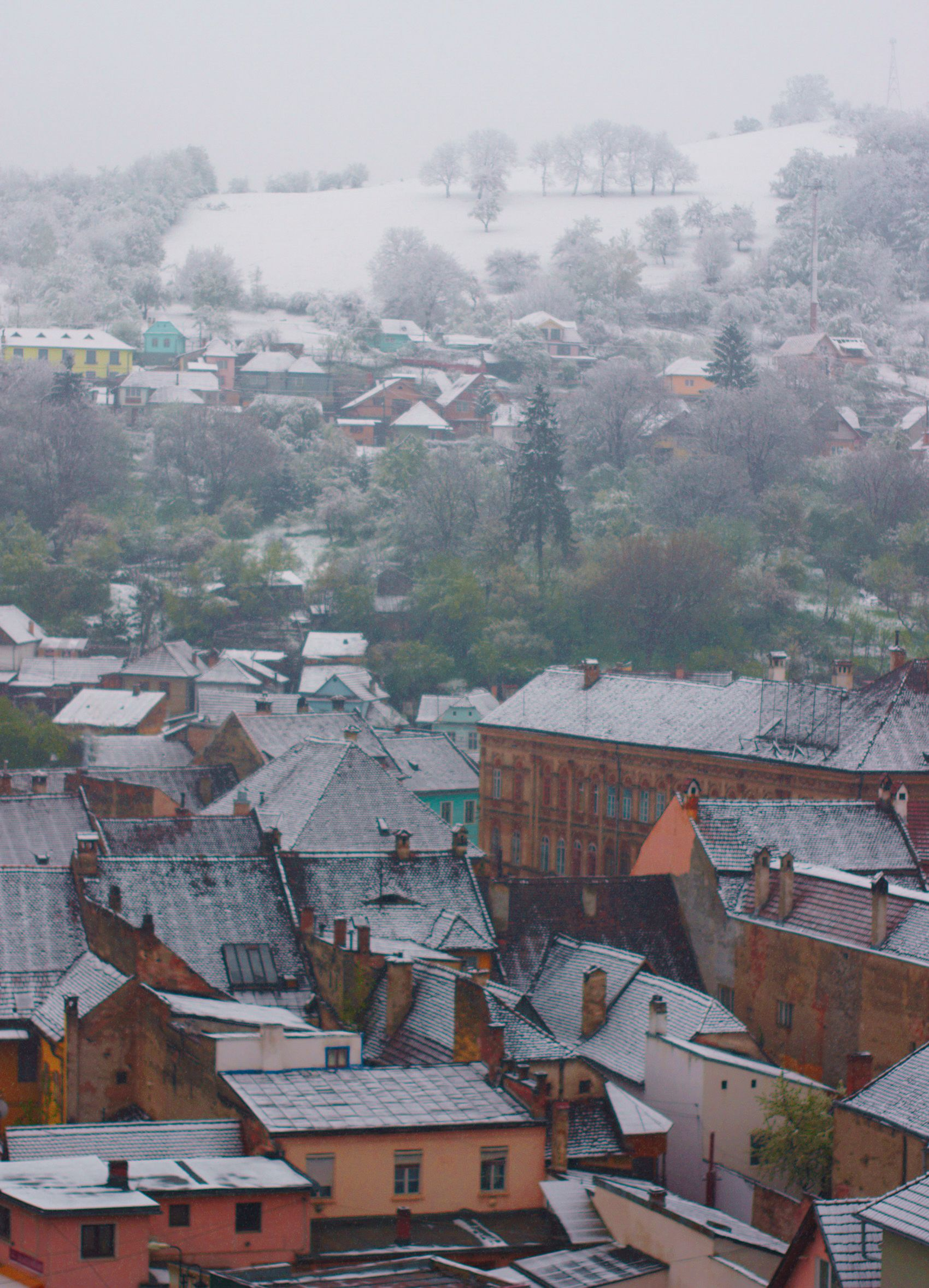 Winter Landscape, Sigisoara