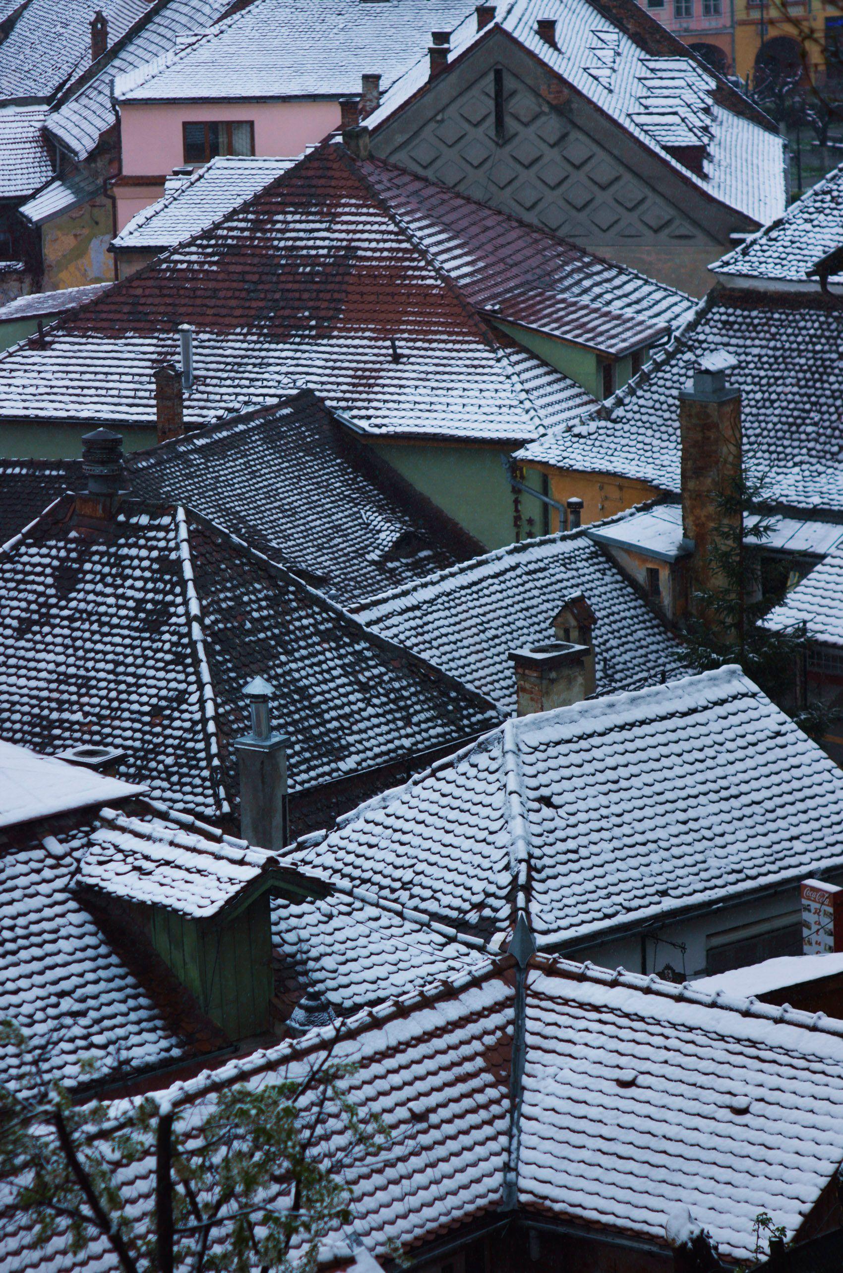 Dusted Rooftops, Sigisoara