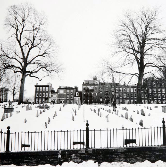 """""""Copp's Hill Burying Ground"""", Boston, 2005"""