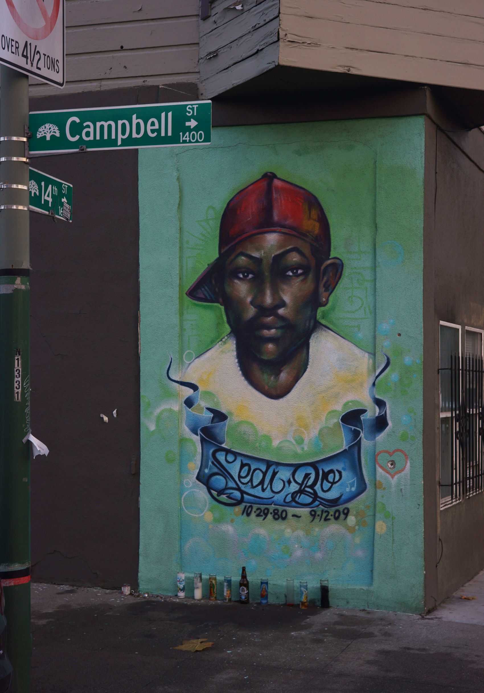 Sedi Bo Memorial, Oakland
