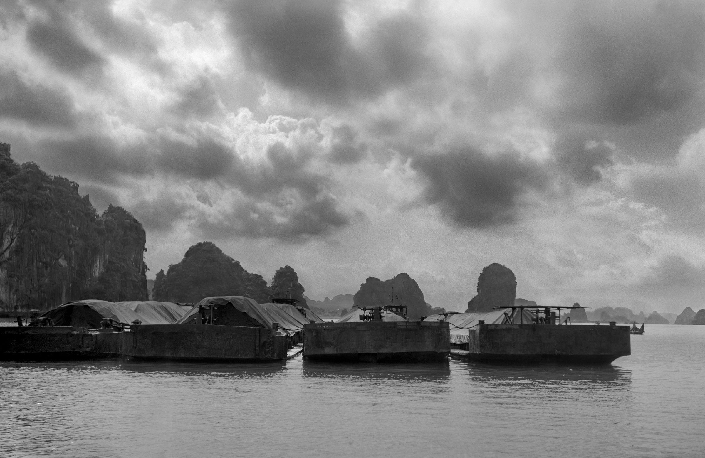 Coal Barges, Halong Bay