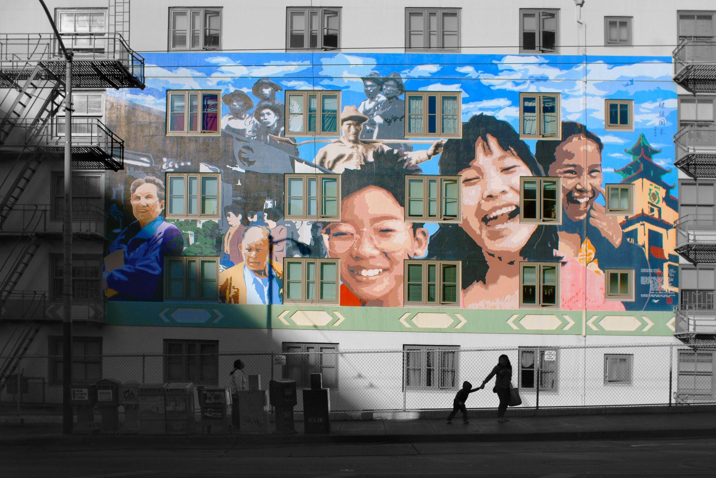 Chinatown Mural,  San Francisco, CA