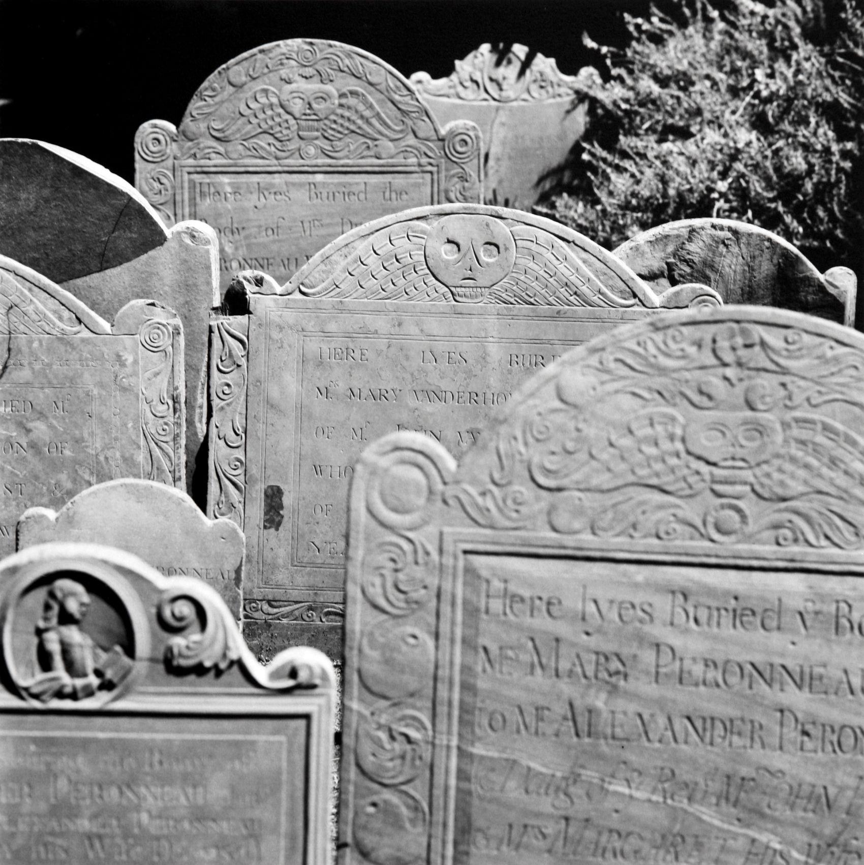 Death Head Tombstones