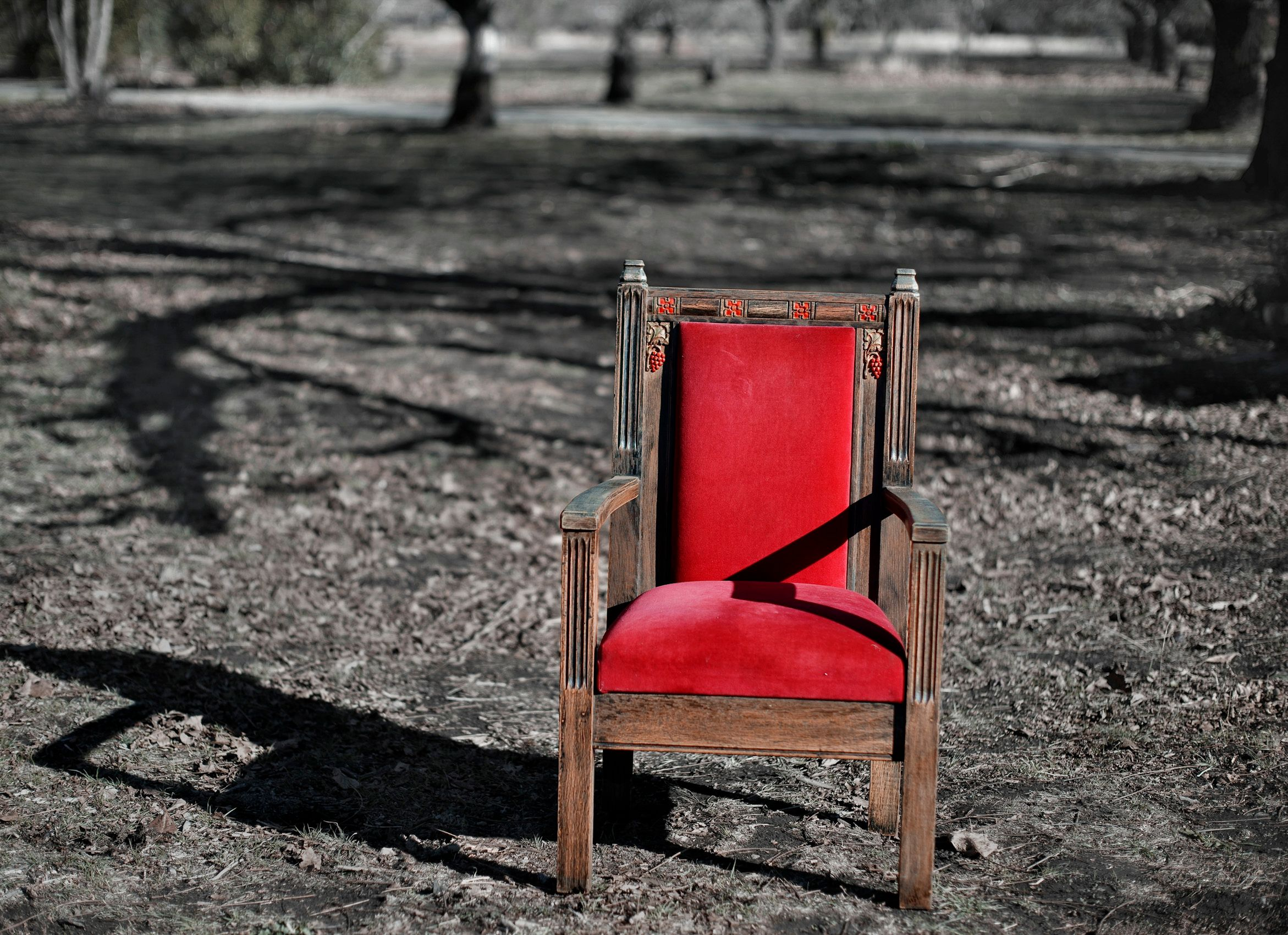 Red Chair, Napa,CA