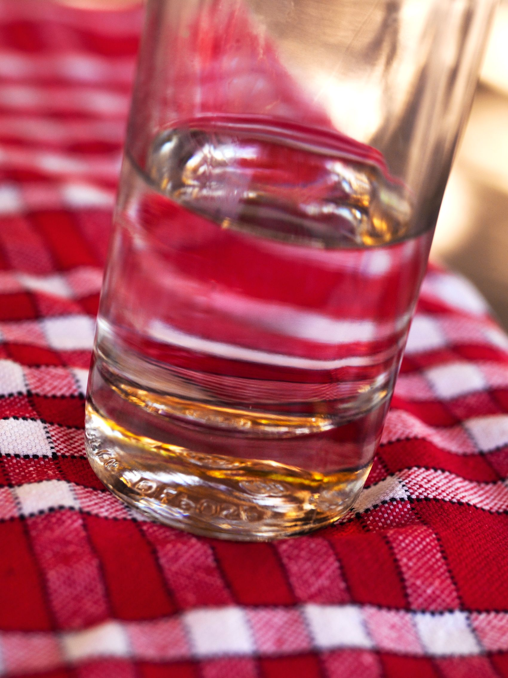 Red Checked Table Cloth