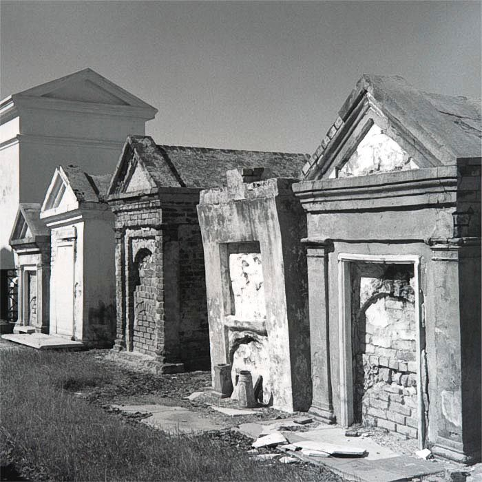 """Above-ground tombs"", Saint Louis II Cemetery, New Orleans,  LA, 2005"