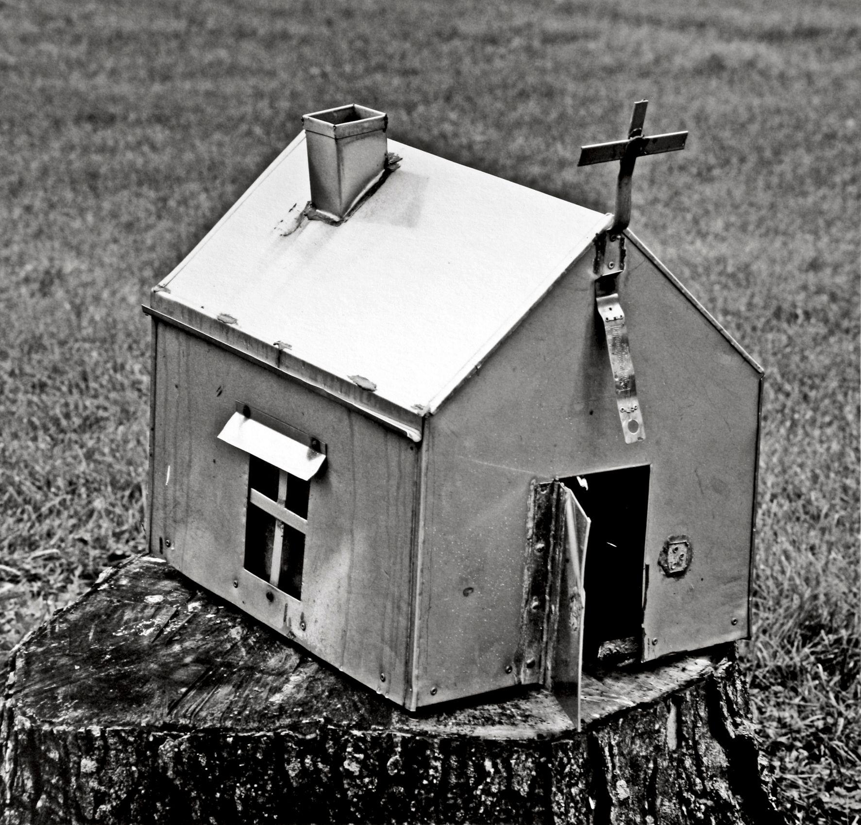"""Gypsy Tin Church in Graveyard"", Chicago 2006"
