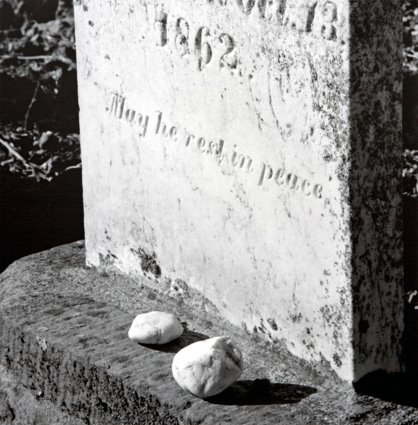 Remembrance Stones, Jewish Cemetery, Jackson, CA, 2006
