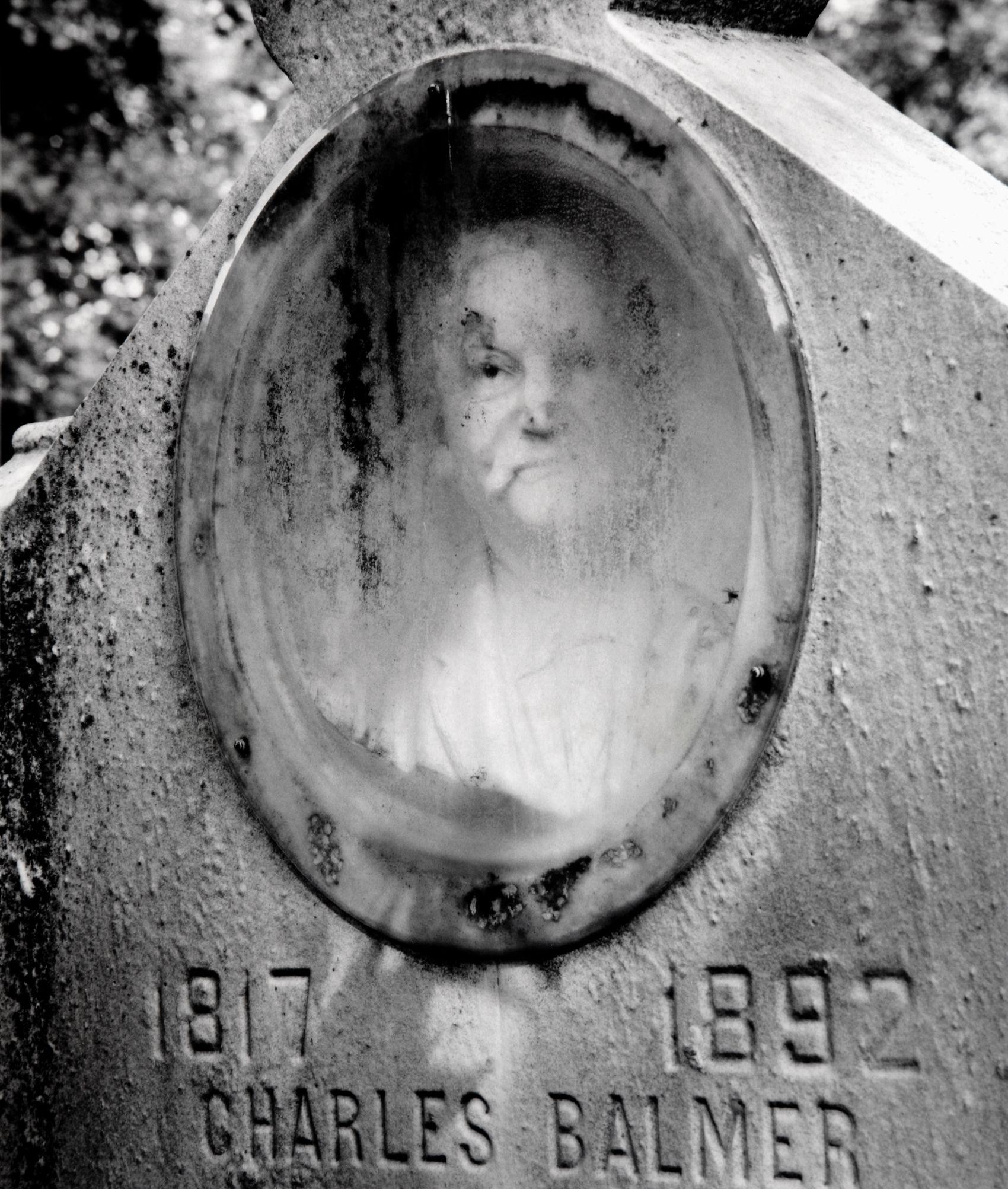 """""""Charles Balmer"""", Bellefontaine Cemetery, St. Louis, Missouri,  2005"""