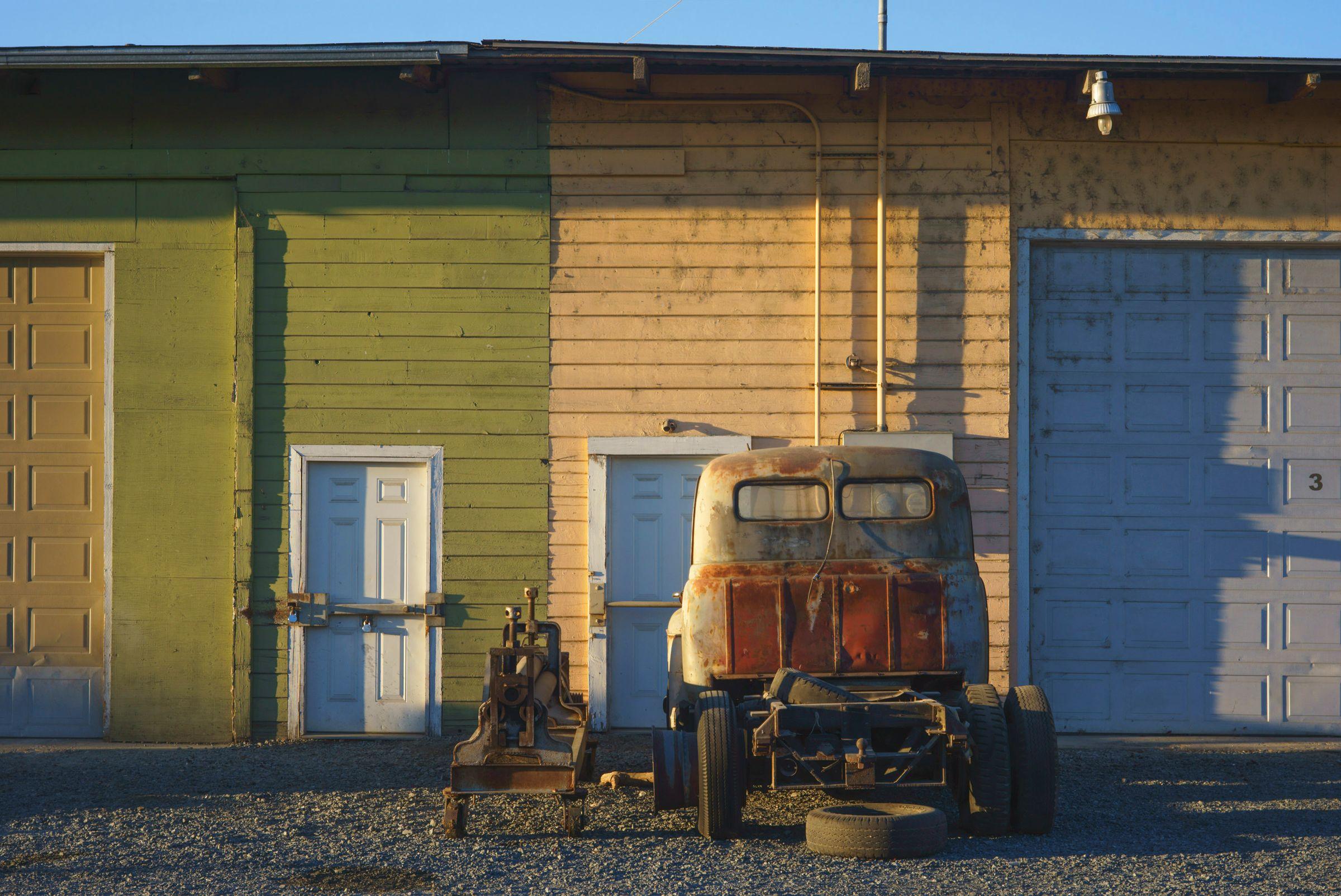 Truck Cab, Oregon