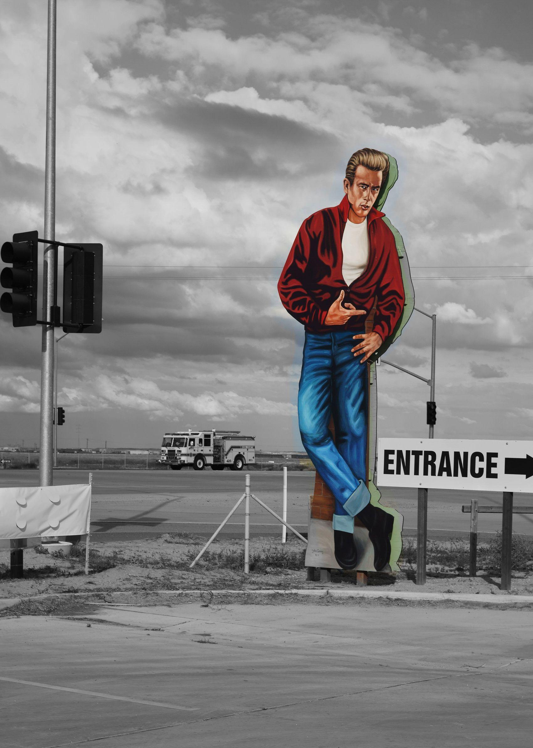 James Dean's Final Road, Central California