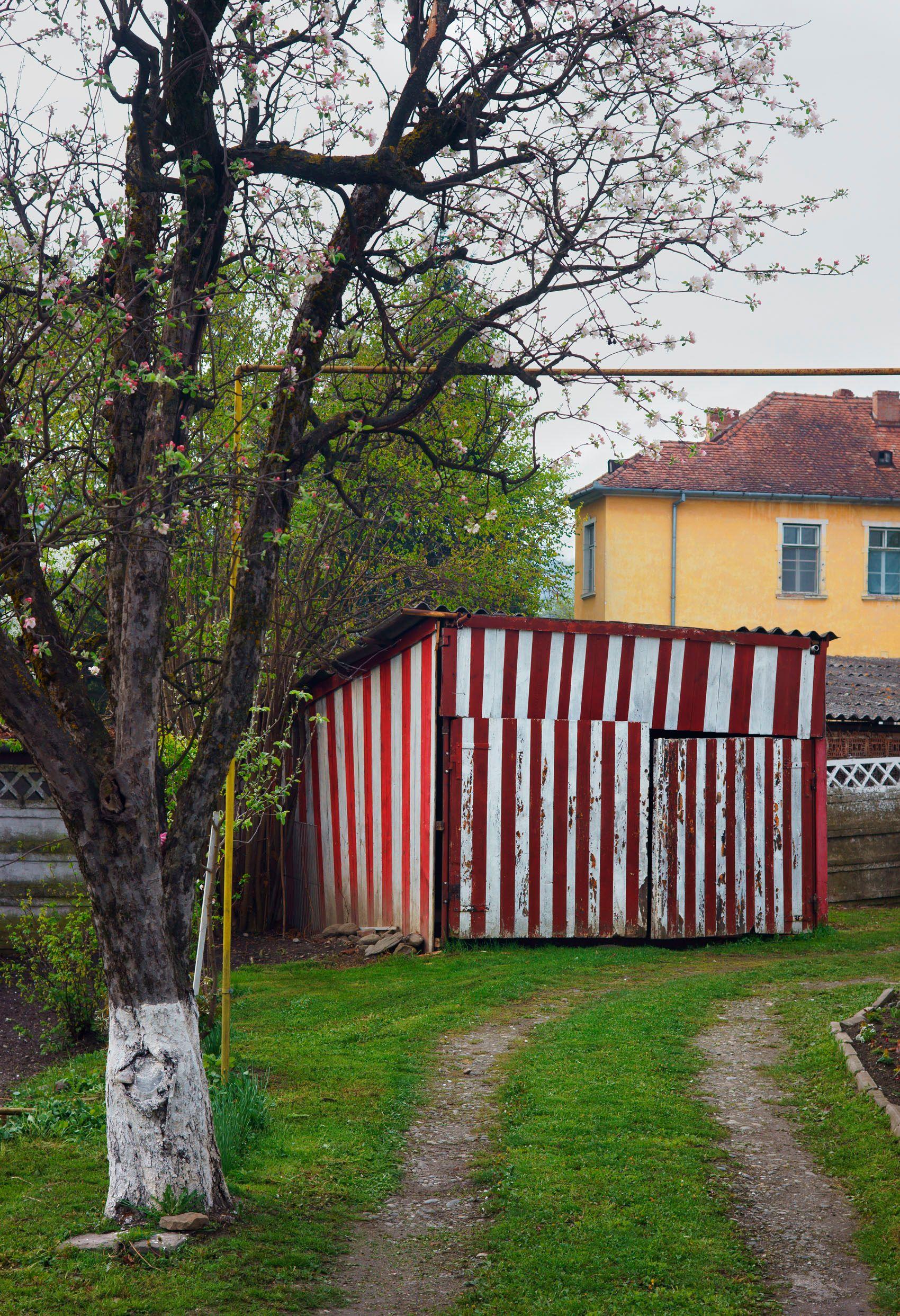 Striped Garage, Sigisoara