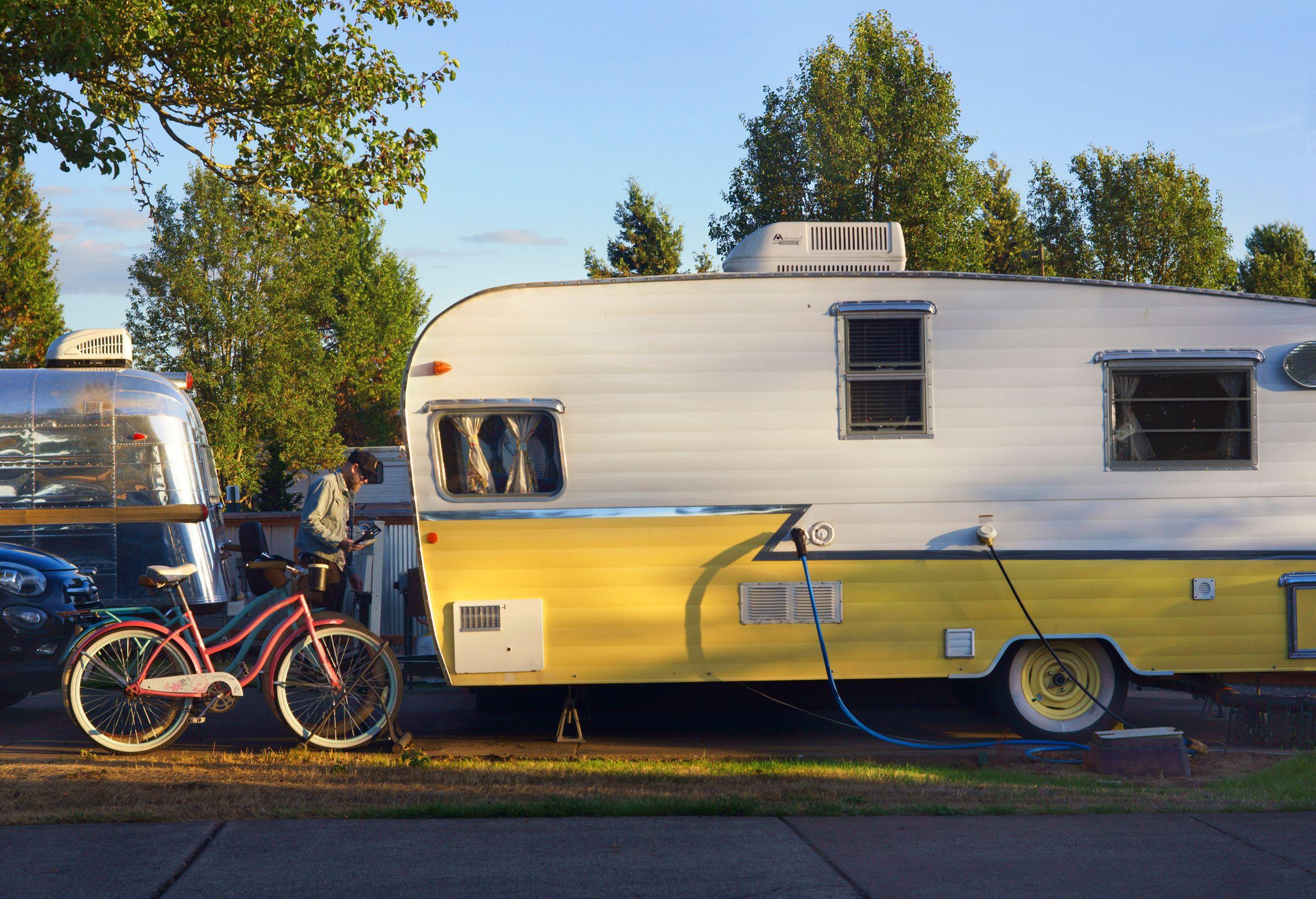 Trailer Living, Oregon