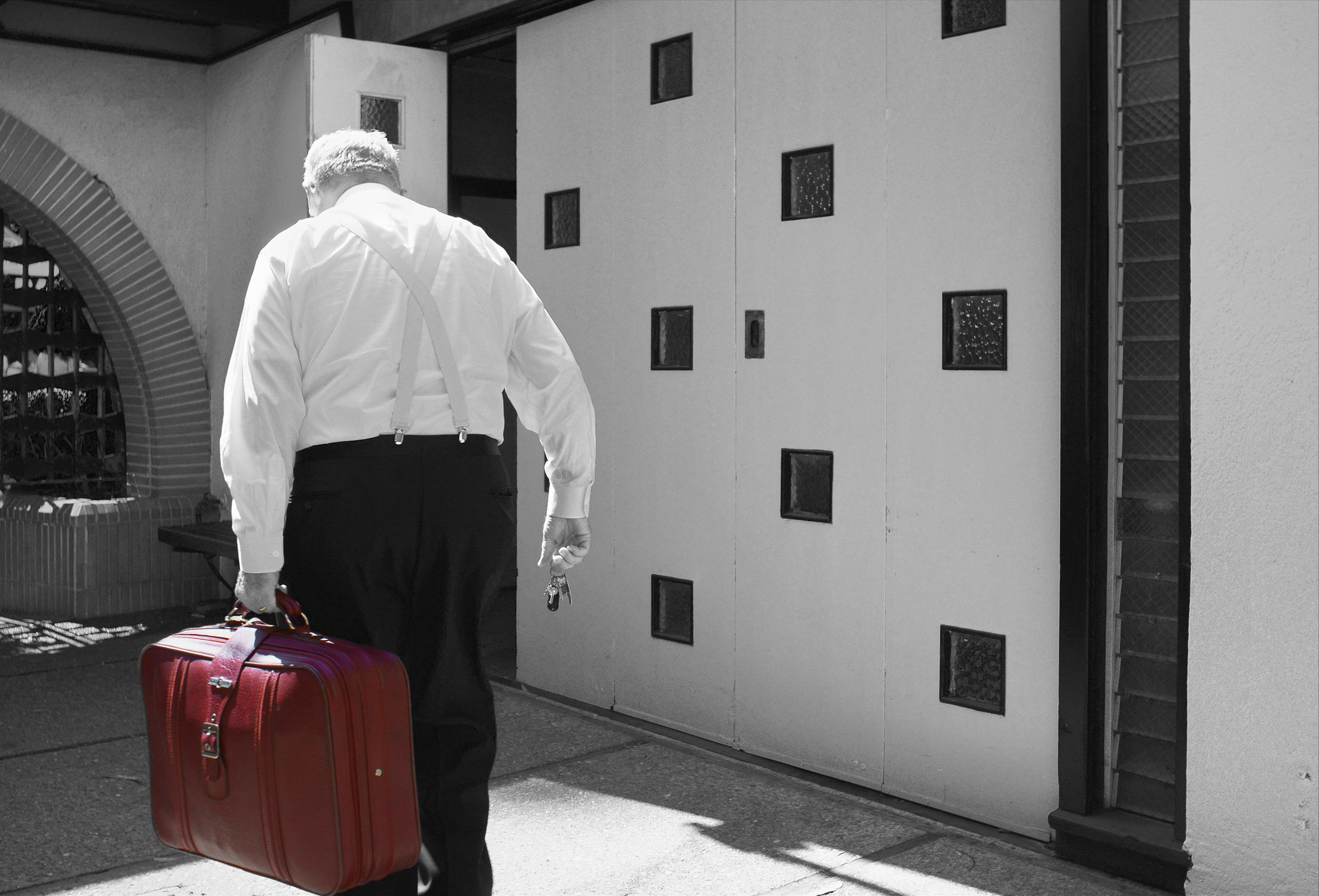 Red Suitcase & Keys, San Francisco