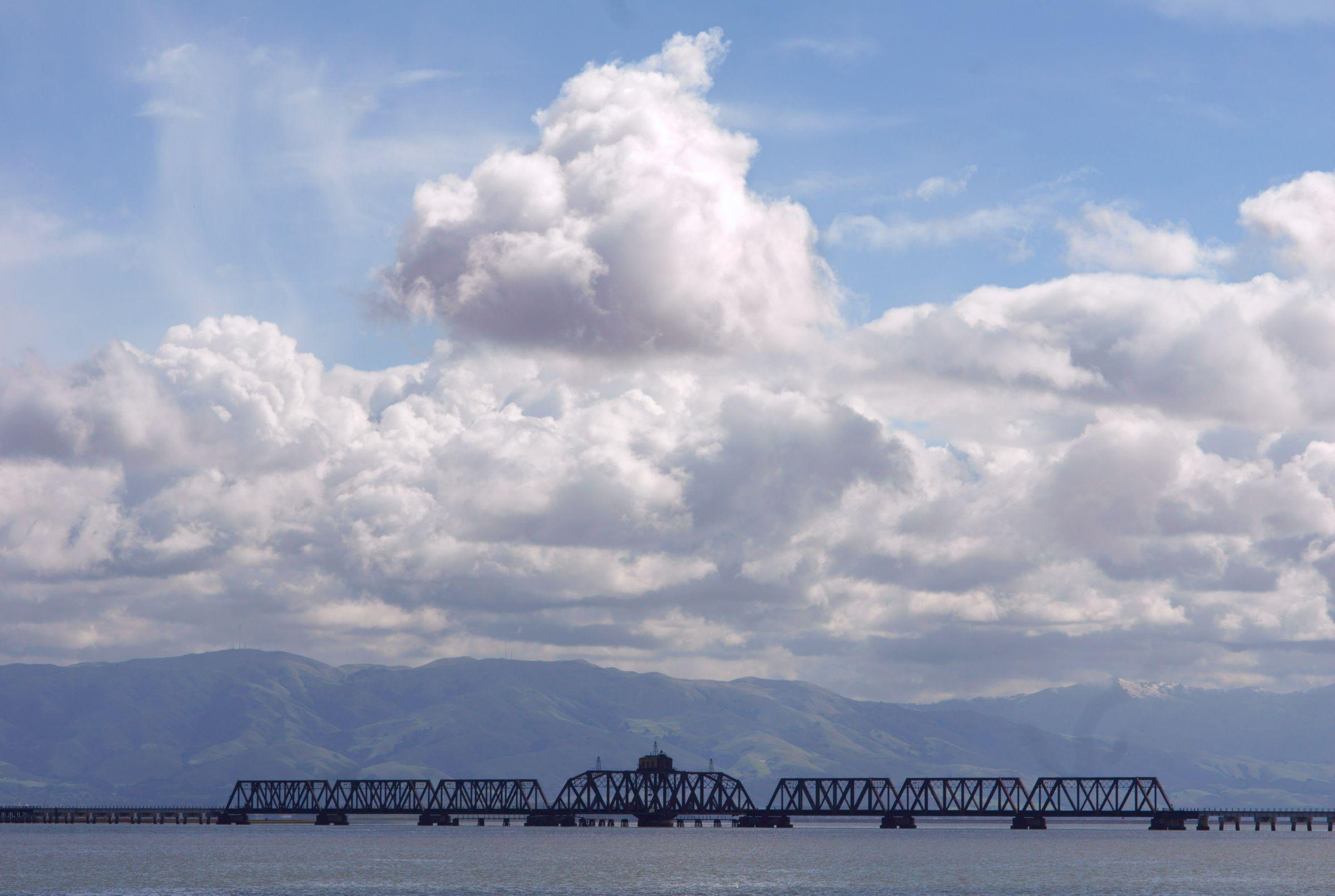 Train Bridge, San Francisco Bay