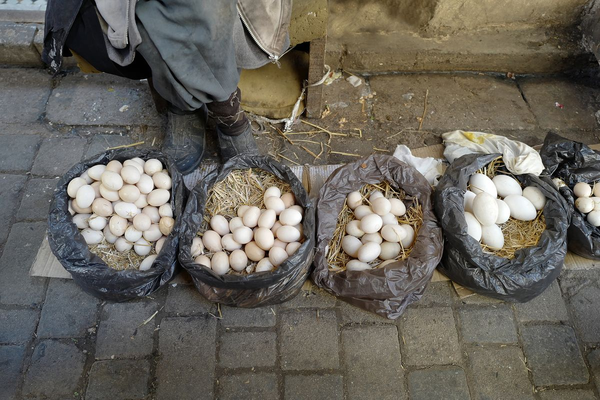 Eggs in the Souk