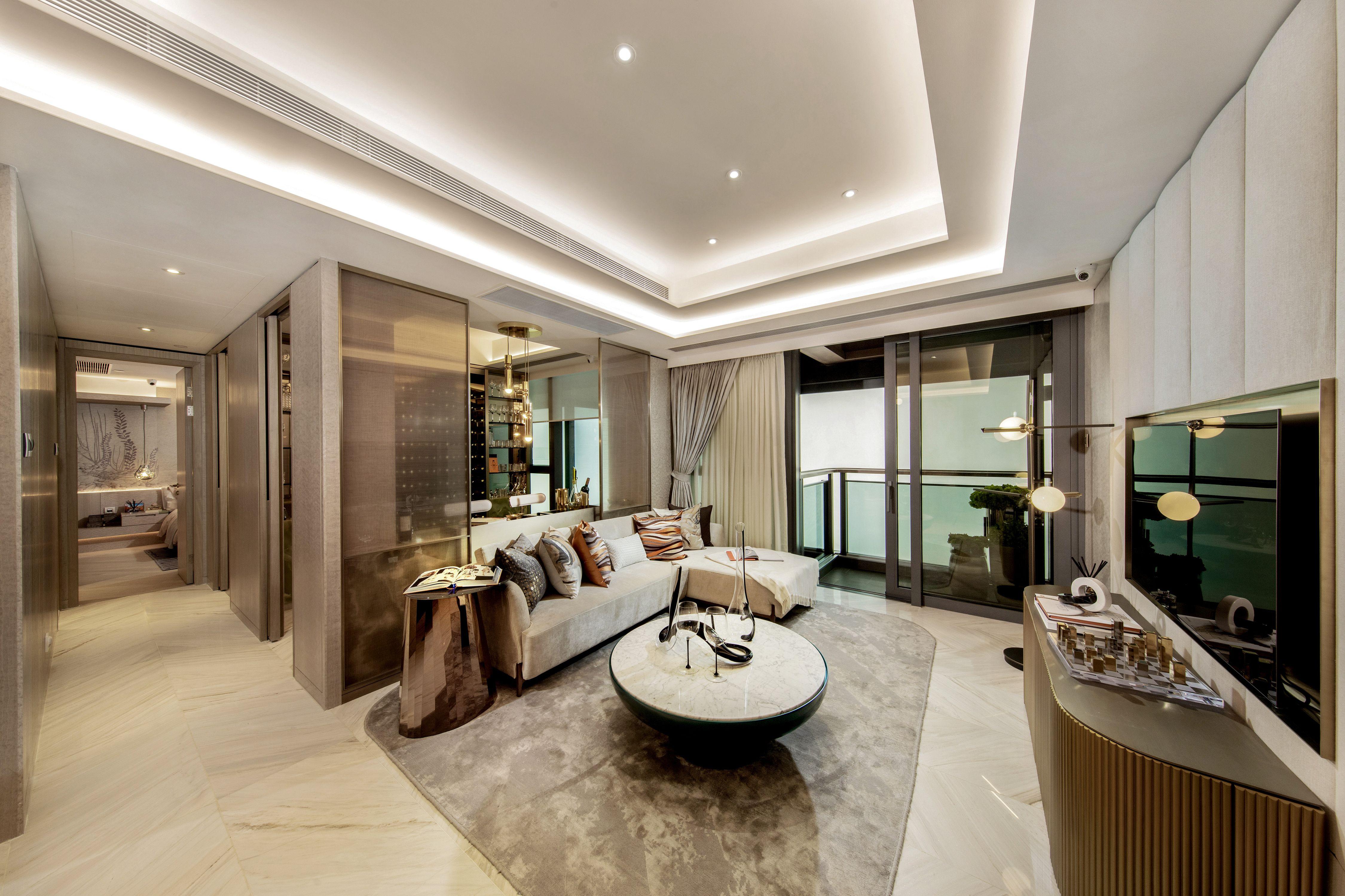 Riverbank Residence Show Flat, Hong Kong