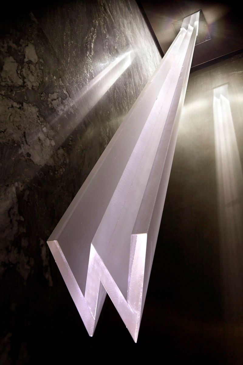 W Hotel Guangzhou - Custom light fixture