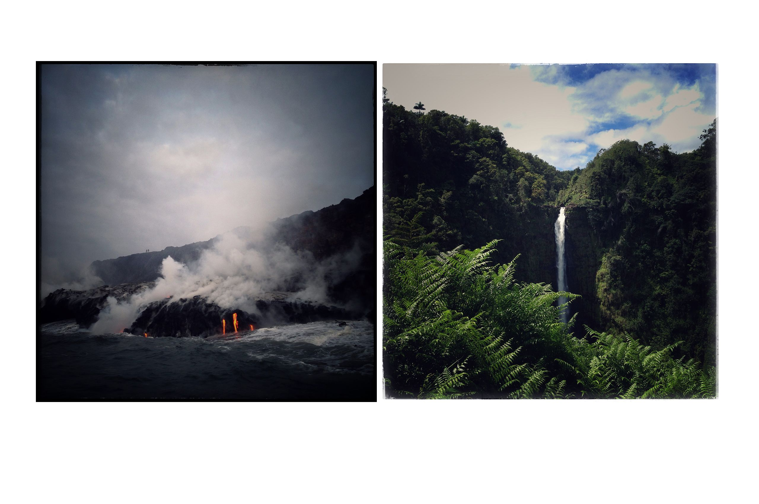 Kamukona, Akaka Falls