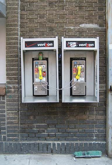 Co-dependency II, Telephones, New York, 2007.