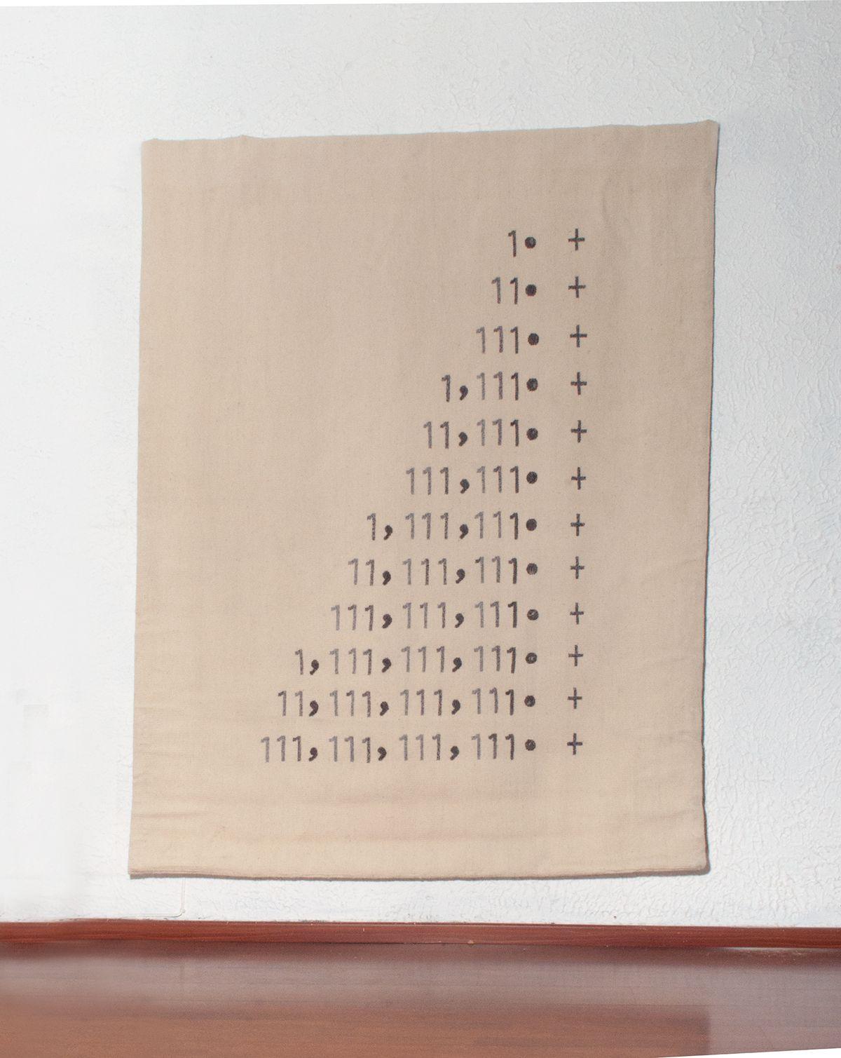 Pyramid I, Wool hand made, Tapestry. Taller Mexicano de Gobelinos. 2017
